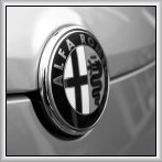 Alfa Romeo Box Canvas Bonnet Badge